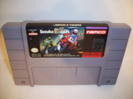 Suzuka 8 Hours - SNES Game
